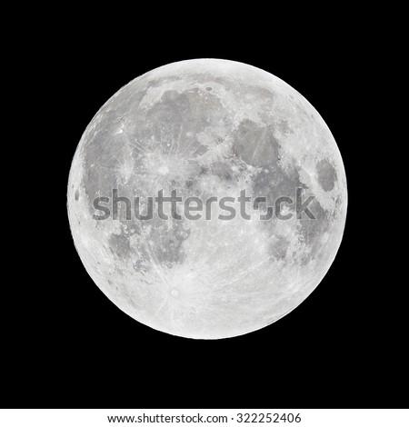Full Moon - super moon - stock photo