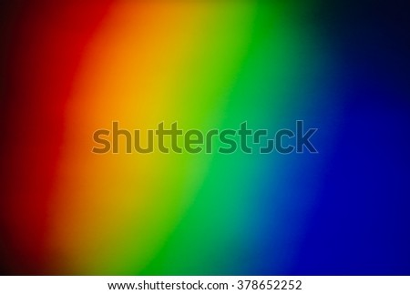 Full Spectrum from a prism