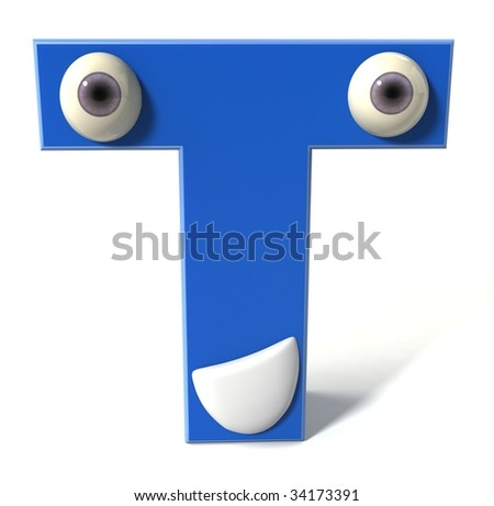 Fun letter - stock photo