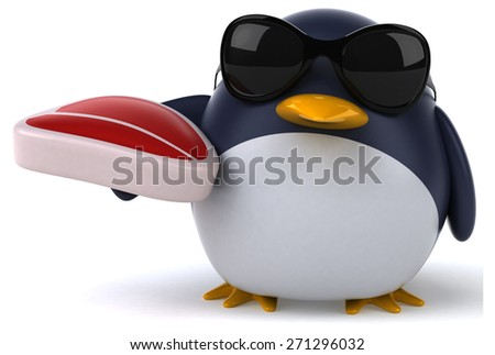 Fun penguin