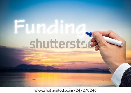 Funding - stock photo