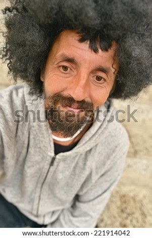 Funky Afro Man