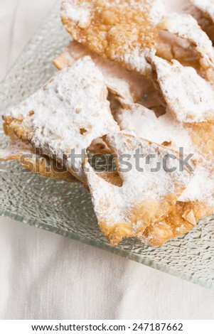 Funnel cake - stock photo