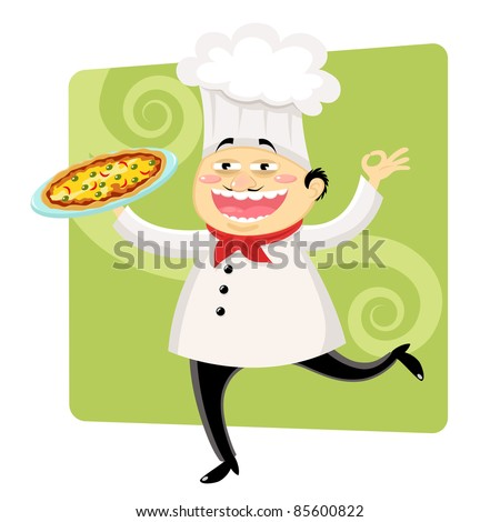 funny chef (raster version)