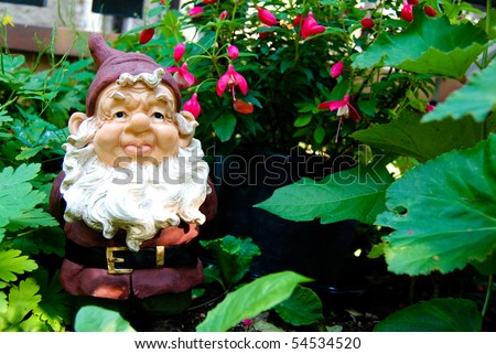 Funny decorative dwarf