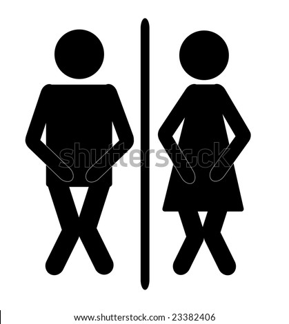 Bathroom Sign Images funny toilet signs stock images, royalty-free images & vectors