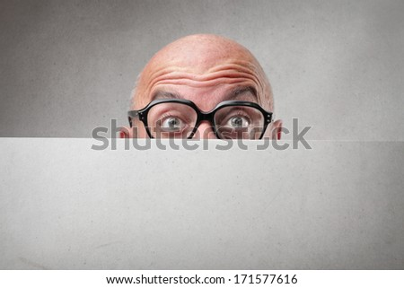 funny offer - stock photo