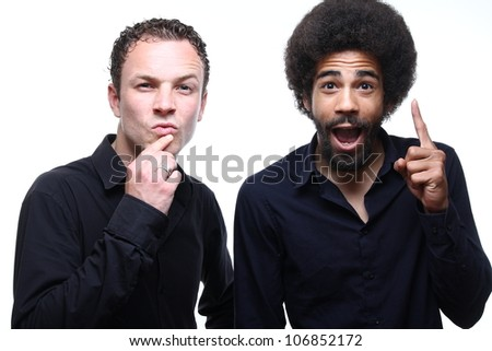 funny people - stock photo