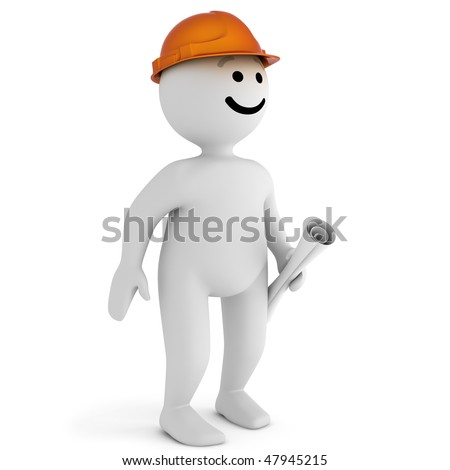 Funny smile character blueprint stock illustration 47945215 funny smile character with blueprint malvernweather Image collections