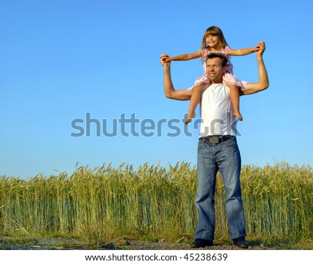 Funny summer - stock photo