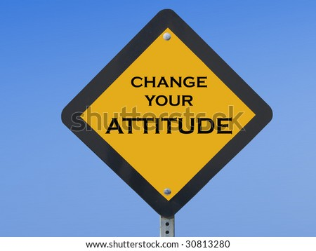 "Funny traffic sign asking drivers to ""change their attitude"" on the road"