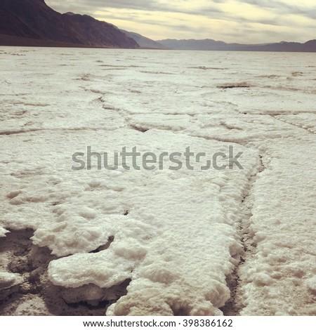 Furnace Creek, Death Valley - stock photo