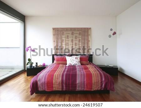 furnished flat - stock photo