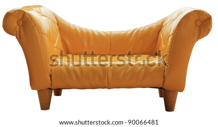 furniture for kid on white background with part - stock photo