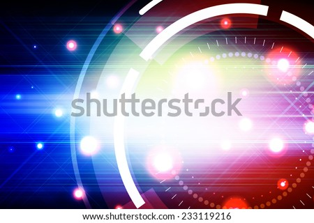 Futuristic Abstract Background Design