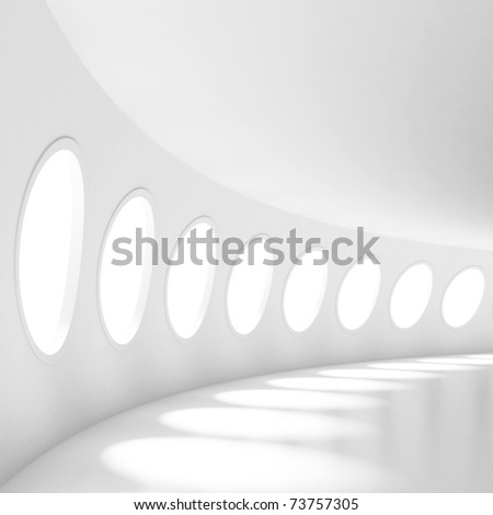 Futuristic Architecture - stock photo