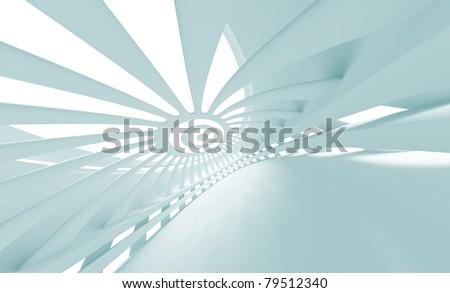 Futuristic Architecture Design - stock photo