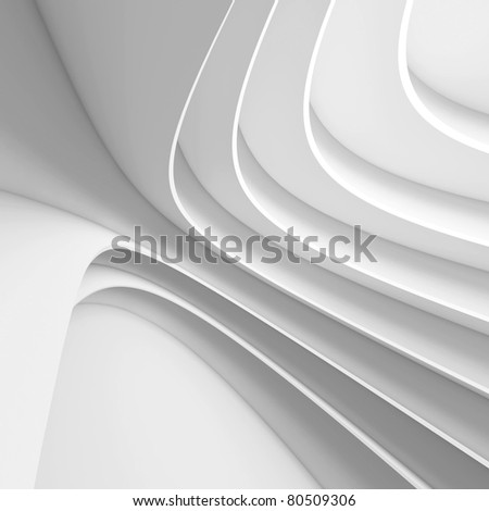 Futuristic Architecture Design - stock photo