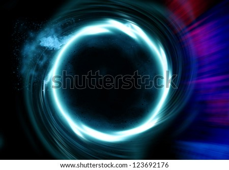 Futuristic background - circle