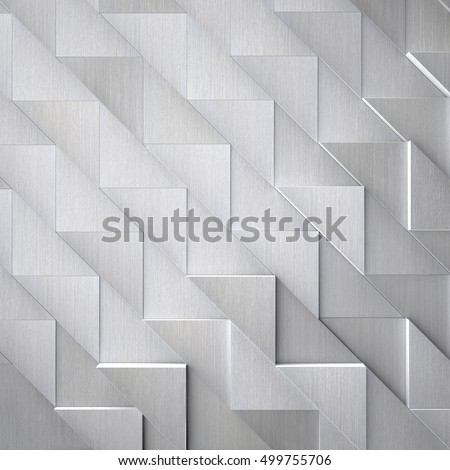 Futuristic Brushed Metal Background (3d illustration)