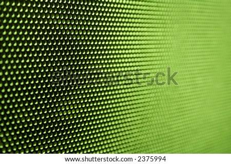 Futuristic celled neon background - stock photo