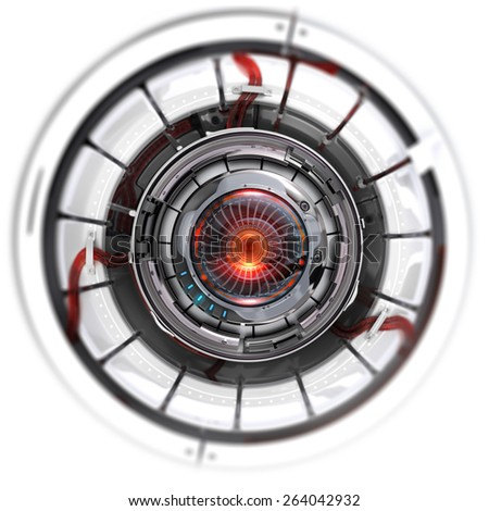 Robot Eye Stock Images Royalty Free Images Amp Vectors