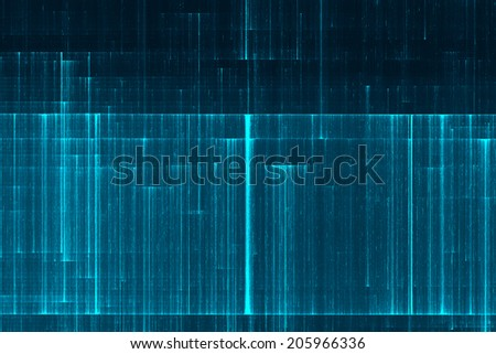 Futuristic lines data stream abstract background - stock photo