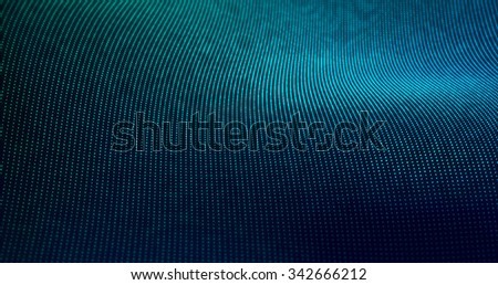 Futuristic Particles Wave Abstract Background - Creative Design Element.  - stock photo