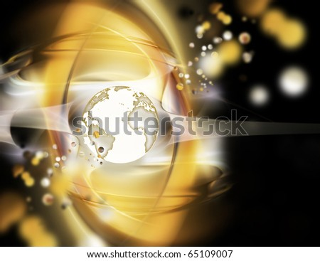 Futuristic technology abstract background for your projects - stock photo