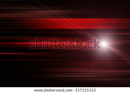 futuristic technology stripe background design with lights - stock photo