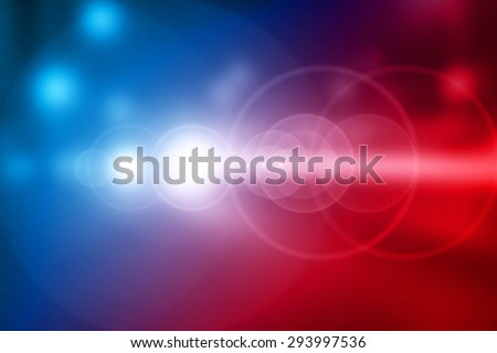 Fuzzy Light Vehicles - stock photo