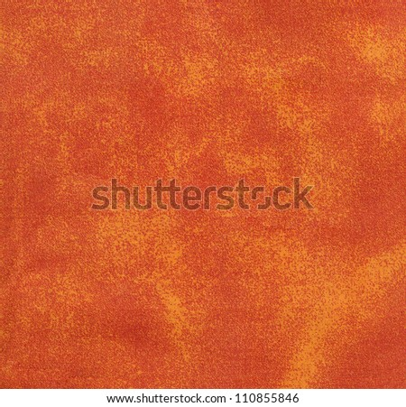 fuzzy orange fabric on the background