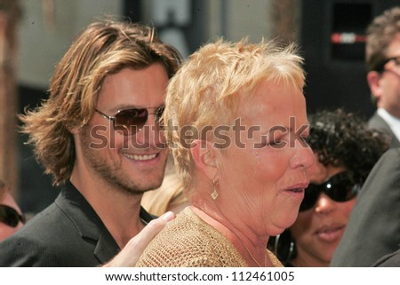 Gabriel Aubry and Judith Ann Hawkins at the ceremony honoring Halle Berry with the 2,333rd star on the Hollywood Walk of Fame. Hollywood Boulevard, Hollywood, CA. 04-03-07