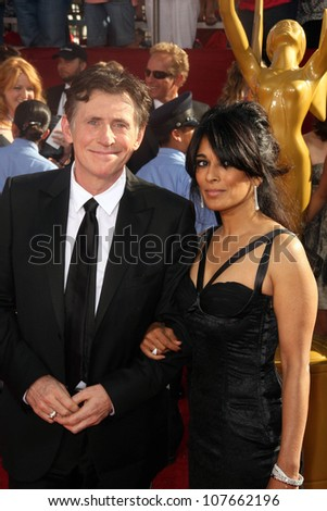 Gabriel Byrne  at the 60th Annual Primetime Emmy Awards Red Carpet. Nokia Theater, Los Angeles, CA. 09-21-08