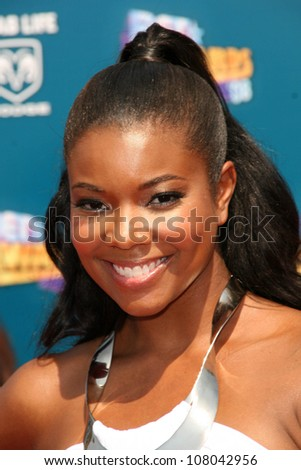 Gabrielle Union  at the BET Awards '08. Shrine Auditorium, Los Angeles, CA. 06-24-08