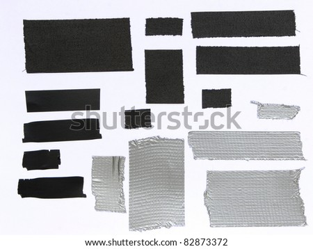 Gaffer and duct tape texture - stock photo
