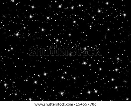 Galaxy background - stock photo