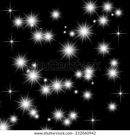 Galaxy background - stock photo
