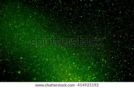 Galaxy Bubble Background with shimmer effect creating space like scene - stock photo