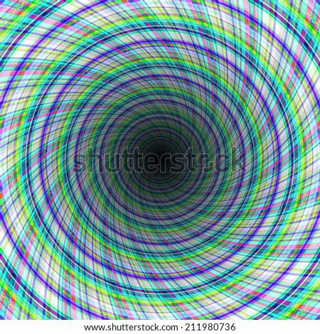 galaxy tunnel - stock photo