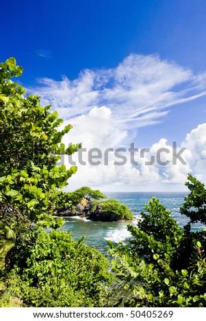 Galera Point, Trinidad - stock photo