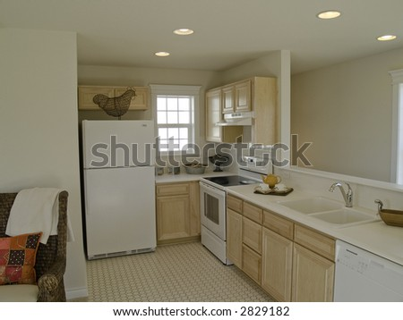 Gally kitchen in small apartment