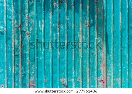 galvanized iron plate, texture, background grunge style HDR process - stock photo