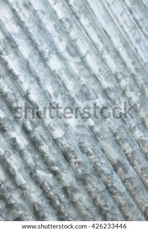 galvanized  plate texture for design background - stock photo
