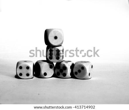 gamble - stock photo