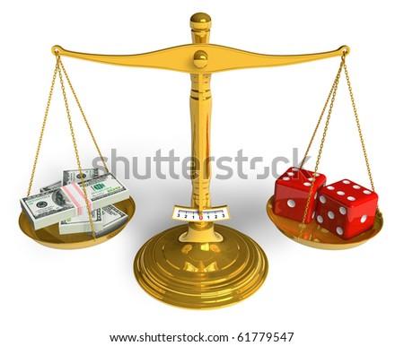 Gambling concept - stock photo