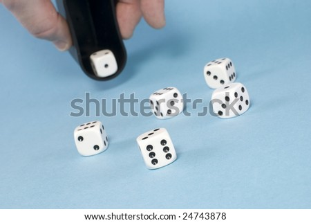 Game bones - stock photo