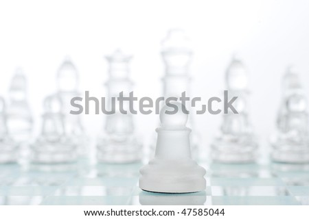 Game in chess,  first course of pawn