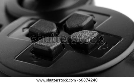 game-pad closeup - stock photo