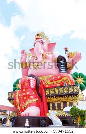 Ganesh sacred in Hinduism.  - stock photo